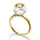 CUBIC PEARL Ring