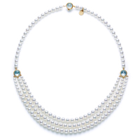 precious moon first lady Necklace
