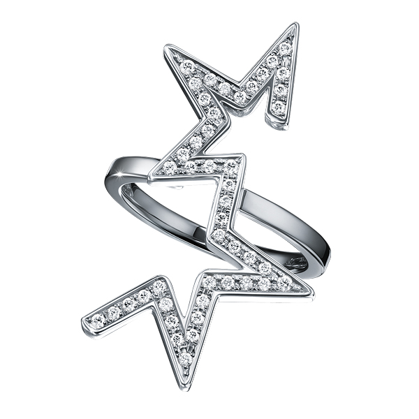 abstract star Ring