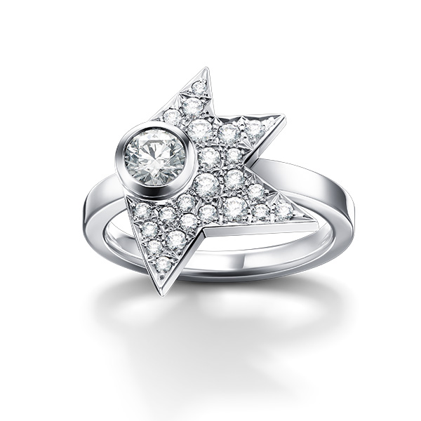 comet diamond Ring