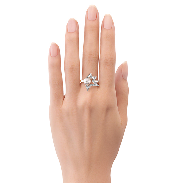 comet plus diamond Ring