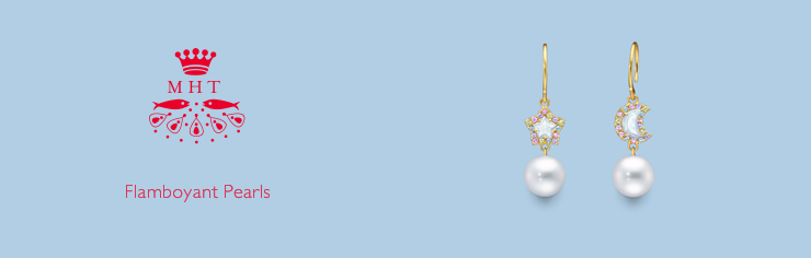 MHT Flamboyant Pearls EARRINGS