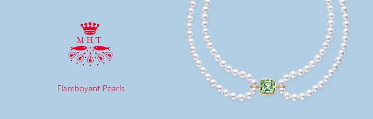 MHT Flamboyant Pearls PENDANT